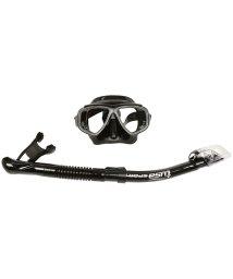 REEF TOURER/ツサ/ZEROシリーズTWIN 度付レンズ対応2眼マスク&ドライスノーケル シリコーン2点セット/501393963