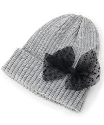 SHOO・LA・RUE(Kids) /チュールリボンニット帽/501395283