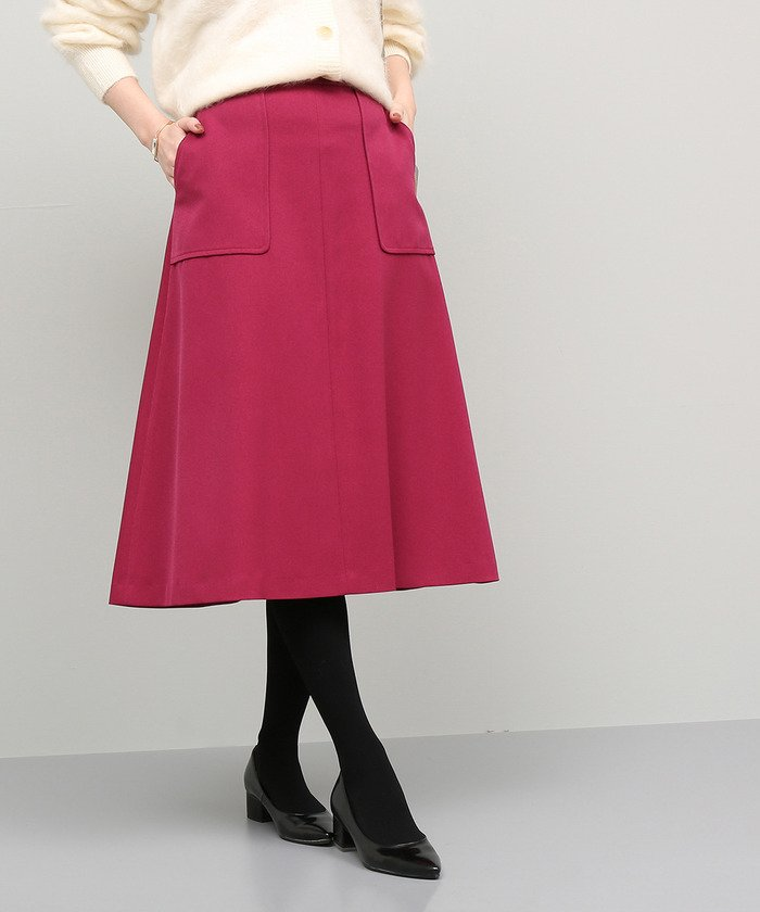 ROPE' トラペーズポケットスカート