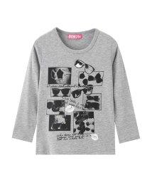 MAC HOUSE(kid's)/RUSH HOUR ガールズ プリントロングTシャツ MH/RH697G/501396718