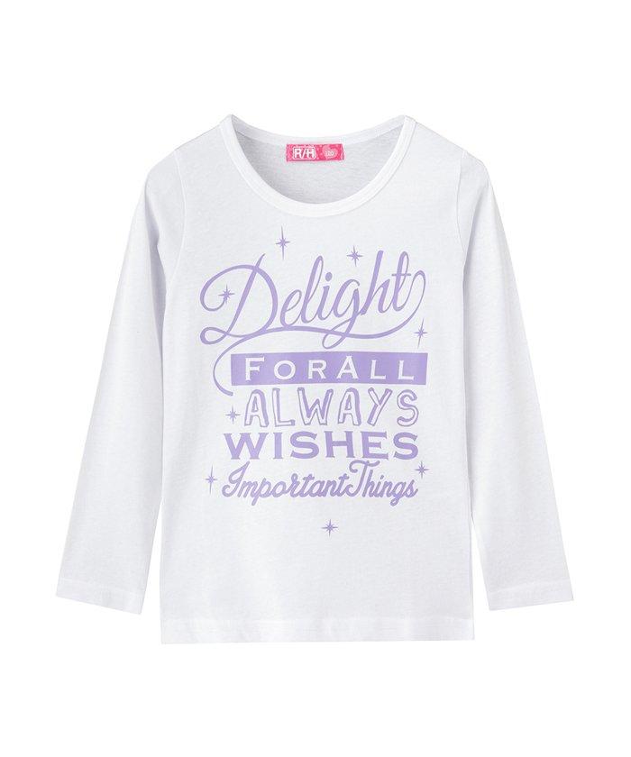 RUSH HOUR ガールズ プリントロングTシャツ MH/RH698G