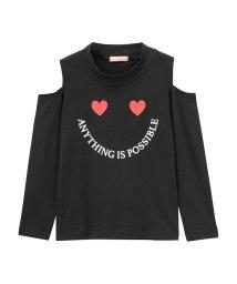 MAC HOUSE(kid's)/T-GRAPHICS ガールズ 肩あきロングTシャツ MH/TG673G/501396727