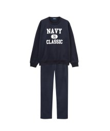 MAC HOUSE(men)/Navy 裏起毛セットアップ 872003MH/501396822