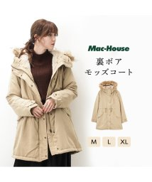 MAC HOUSE(women)/RUSH HOUR 裏ボアモッズコート 571-9426/501397020