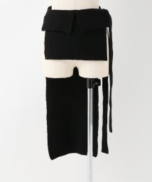 SLOBE IENA/TAN LAMBS WRAPPED HOLDERスカート/501397231