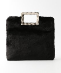 LE JOUR/【CACHELLIE】F/PEARL × F/FUR 2WAY TOTE/501398137