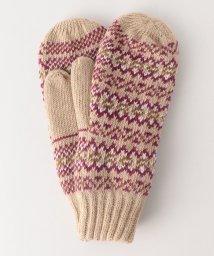 coen/ジャカードミトン(手袋/グローブ)/501370352