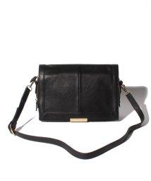 MOUSSY(BAG)/【MOUSSY】 New soft Leather Flap Shoulder Bag/501384001