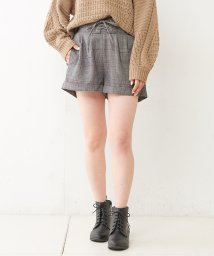 NICE CLAUP OUTLET/チェックショートパンツ/501387251
