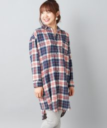 NICE CLAUP OUTLET/チェックロングワンピ/501387257