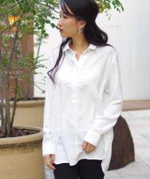 NARA CAMICIE/ジョーゼットチュニックシャツ/501395971