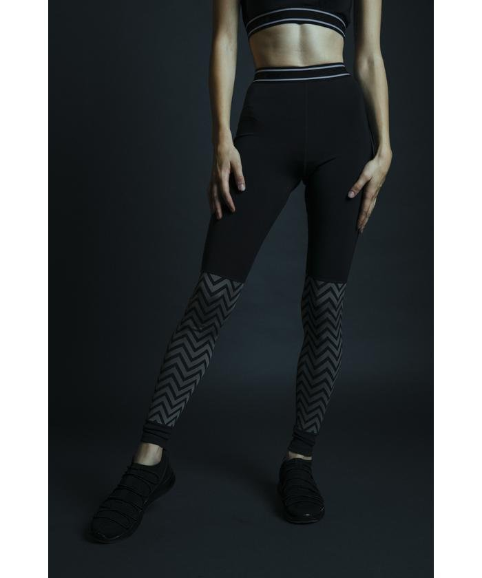 CLUB AZUL PATTERN LEGGINGS