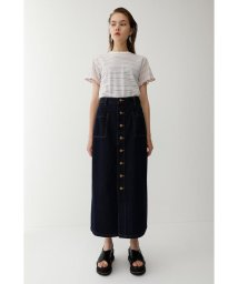 moussy/BUTTON UP ロングスカート/501400800