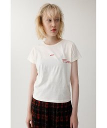 moussy/ROSE EMBROIDERY Tシャツ/501400881