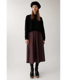 moussy/HOUNDSTOOTH FLARE スカート/501400909