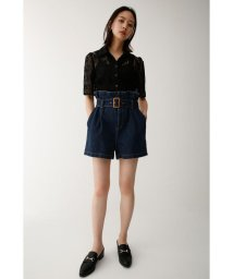 moussy/HIGH WAIST BELTED ショートパンツ/501400974