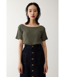moussy/WIDE NECK OPEN トップス/501400985