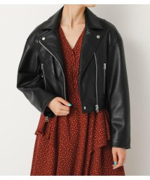 SLY/TWO COLLAR FAUX LEATHER JK/501401144