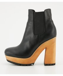 SLY/WOOD CHUNKY HEEL BOOTS/501401308