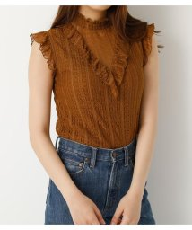 SLY/STRIPE LACE STAND FRILL TOPS/501401397