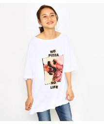 Rodeo Crowns/NO PIZZA NO LIFE Tシャツ/501401744