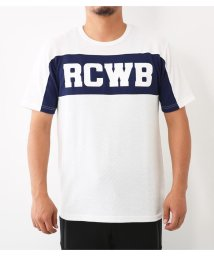 RODEO CROWNS WIDE BOWL/RCWB スイッチング ハニカム Tシャツ/501406108