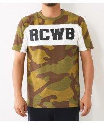 RODEO CROWNS WIDE BOWL/RCWB スイッチング ハニカム Tシャツ/501406108
