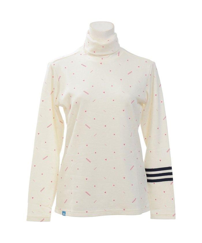 アディダス/レディス/JP ADICROSS モノグラム L/S タートルネックシャツ