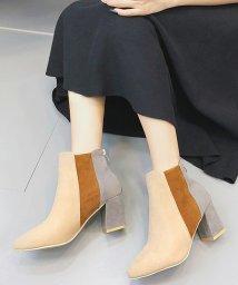 miniministore/ブーツ ショートブーツ レディース ブーティー 靴 ヒール 秋冬 韓国 歩きやすい/501406655