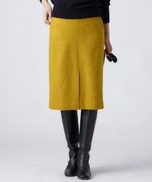 NIJYUSANKU/MOON LAMBSWOOL COLOR TWEED タイトスカート/501406704