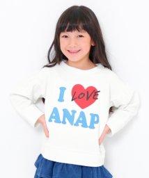 ANAP KIDS/I LOVE ANAPトレーナー/501380758