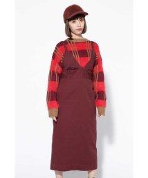 ROSE BUD/ロング丈ジャンパースカート/501407301