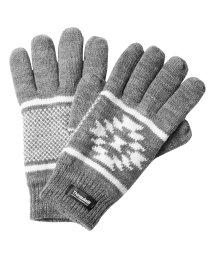 JIGGYS SHOP/オルテガジャガードシンサレートグローブ / 手袋 グローブ メンズ 防寒 ニット Thinsulate シンサレート 中綿/501407921