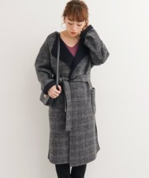 URBAN RESEARCH Sonny Label/2WAYチェックリバーコート/501408863