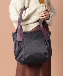 russet/ROUND FORM TOTE BAG/501387402