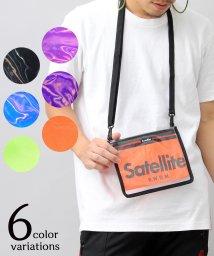 AMS SELECT/【Satellit/サテライト】CLEAR/クリアサコッシュ/サコッシュ/ビニールバッグ/PVC/501410635