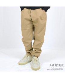 RAT EFFECT/ストレッチテーパードサルエルパンツ/501410830