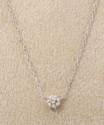 DECOUVERTE/18KWG 0.2ct ダイヤモンド ネックレス H&C/501411370