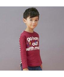 BREEZE / JUNK STORE/バックボーダー切替Tシャツ/501348252