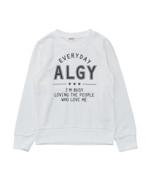 ALGY/ニコ☆プチ12月号掲載   バックタテロゴトレーナー/501374628