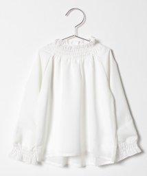 b-ROOM/ジョーゼットシャーリングシャツ/501395299