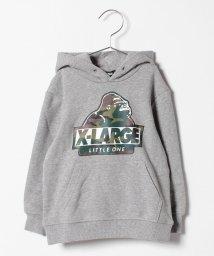 XLARGE KIDS/迷彩OG裏毛パーカー/501395311