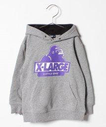 XLARGE KIDS/OGプリント裏毛パーカー/501395312