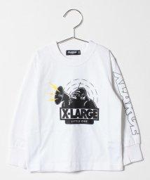 XLARGE KIDS/スピーカーOG袖ロゴ入りTシャツ/501395313
