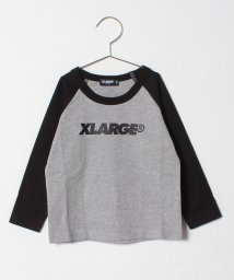 XLARGE KIDS/ロゴラグランTシャツ/501395314