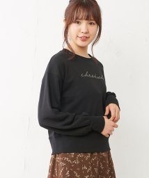 NICE CLAUP OUTLET/うらけミニロゴトップス/501395652