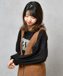 NICE CLAUP OUTLET/ロゴうらけトップス/501395653