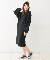 NICE CLAUP OUTLET/肩畦ニットワンピ/501395654
