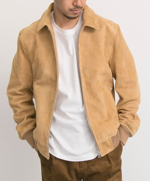 URBAN RESEARCH(アーバンリサーチ)/FREEMANS SPORTING CLUB JP GOAT SUEDE SPORTS JACKET/UF86-17B011