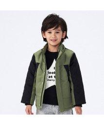 BREEZE / JUNK STORE/キルト切替中綿ジャンパー/501348241